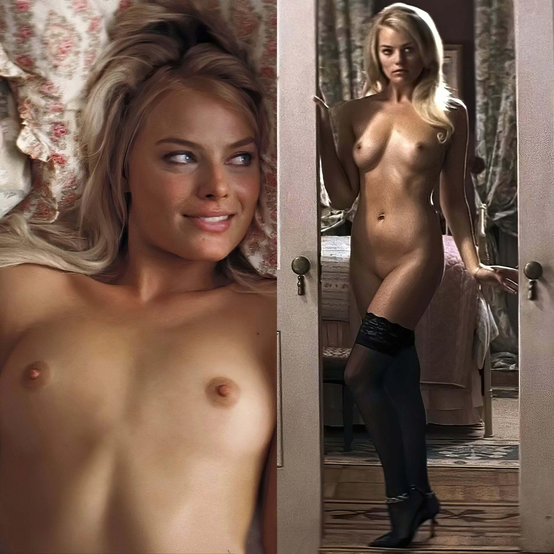 Robbie nudes margot Margot Robbie