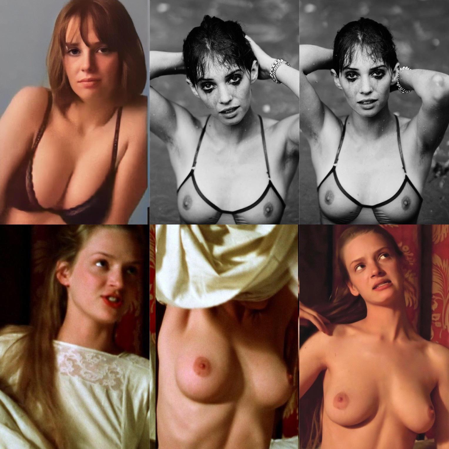 Uma Thurman Nude